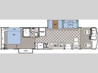 Floorplan - 2008 Gulf Stream RV Yellowstone - Diesel Pusher 8356