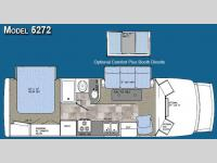 Floorplan - 2008 Gulf Stream RV Yellowstone Cruiser 5272