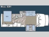 Floorplan - 2008 Gulf Stream RV Yellowstone Cruiser 5291