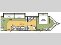 Floorplan - 2008 Forest River RV Flagstaff V-Lite 30WRLS