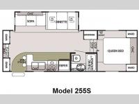 Floorplan - 2009 Forest River RV Cherokee Lite 255S