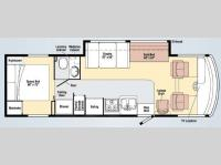 Floorplan - 2009 Winnebago Vista 30B