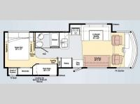 Floorplan - 2009 Winnebago Vista 32K