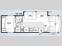 Floorplan - 2009 Winnebago Chalet 30B