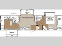 Floorplan - 2009 Dutchmen RV Denali 31RGBS-M5
