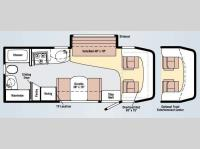 Floorplan - 2009 Winnebago View 24H