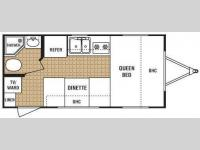 Floorplan - 2009 Dutchmen RV Zoom 718QB