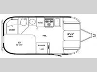 Floorplan - 2009 Airstream RV International CCD 19