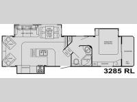 Floorplan - 2009 Heartland Big Country 3285 RL