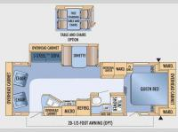 Floorplan - 2009 Jayco Eagle Super Lite 298RLS