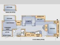 Floorplan - 2009 Jayco Eagle 324BHDS