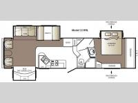 Floorplan - 2009 Keystone RV Outback Sydney Edition 321FRL