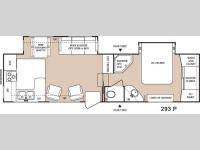 Floorplan - 2005 Keystone RV Everest 293P