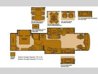 Floorplan - 2006 Fleetwood RV Providence 39S