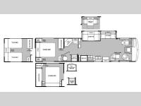 Floorplan - 2000 Fleetwood RV Bounder 36S