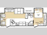 Floorplan - 2009 Keystone RV Cougar 302RLS