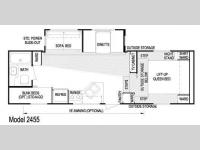 Floorplan - 2009 Skyline Nomad 2455