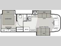 Floorplan - 2009 Four Winds RV Four Winds Siesta 29BG