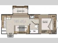 Floorplan - 2009 Northwood Nash 25P