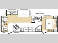 Floorplan - 2009 Keystone RV Cougar 27RLS