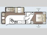 Floorplan - 2010 Keystone RV Outback 285FL