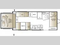 Floorplan - 2010 Keystone RV Outback 210RS