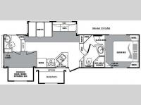Floorplan - 2010 Keystone RV Cougar 293SAB