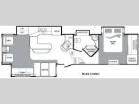Floorplan - 2010 Keystone RV Cougar 326MKSWE