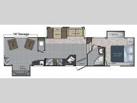 Floorplan - 2010 Keystone RV Raptor 3602RL