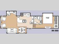 Floorplan - 2010 Coachmen RV Wyoming Summit 364 SIQS
