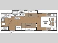 Floorplan - 2010 Dutchmen RV Dutchmen 25C-GS Lite