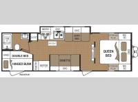 Floorplan - 2010 Dutchmen RV Dutchmen 28G-GS Lite