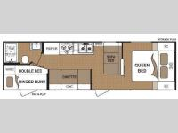 Floorplan - 2010 Dutchmen RV Sport 27B