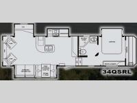 Floorplan - 2010 Heartland Eagle Ridge 34QSRL