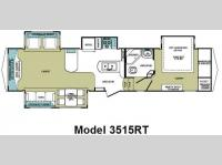 Floorplan - 2010 Forest River RV Cardinal 3515RT