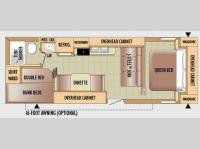 Floorplan - 2010 Jayco Jay Flight 26BH