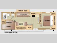 Floorplan - 2010 Jayco Jay Flight 28BHS