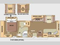 Floorplan - 2010 Jayco Eagle 322FKS