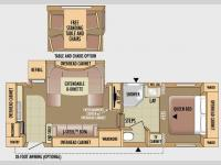 Floorplan - 2010 Jayco Eagle Super Lite 25.5RKS