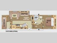 Floorplan - 2010 Jayco Eagle Super Lite 28.5BHS