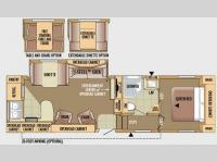 Floorplan - 2010 Jayco Eagle Super Lite 29.5RKS
