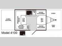 Floorplan - 2010 Palomino Y-Series 4100