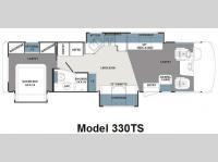 Floorplan - 2010 Forest River RV Georgetown 330TS