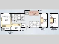 Floorplan - 2010 Winnebago Access 31J