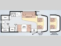 Floorplan - 2010 Winnebago View 24K