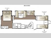 Floorplan - 2010 Keystone RV Outback 301BQ