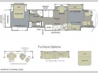 Floorplan - 2010 Monaco Dynasty Stafford IV
