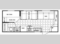 Floorplan - 2010 Gulf Stream RV Kingsport 186 DB