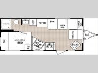 Floorplan - 2005 Dutchmen RV Lite 19 F