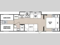 Floorplan - 2005 Dutchmen RV Lite 29 Q-GS